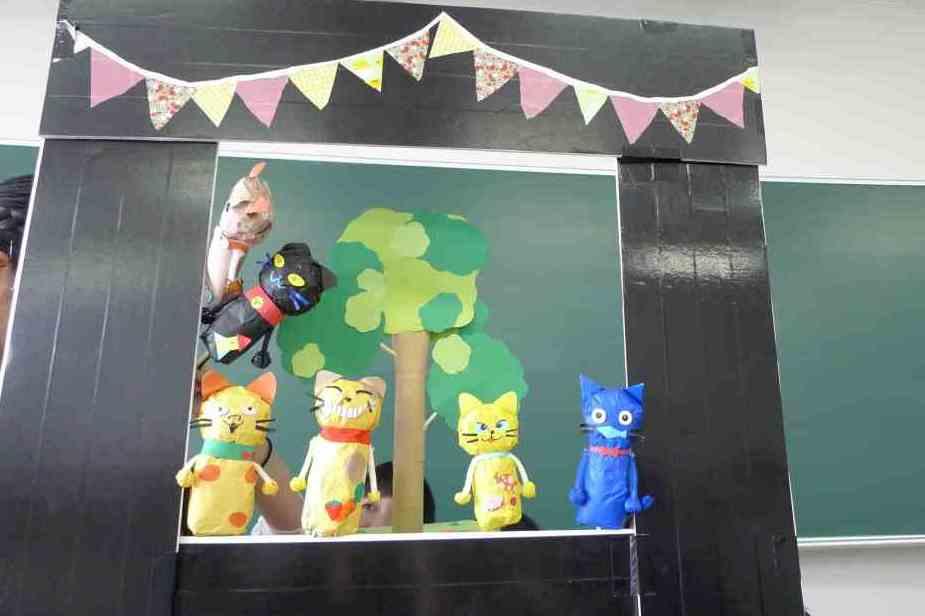児童文化演習の様子