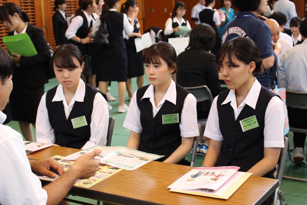 昌賢学園就職説明会が行われました