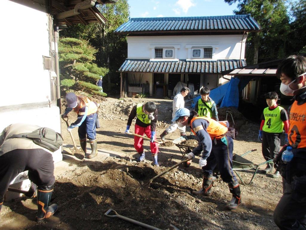 佐野市災害ボランティアに参加しました