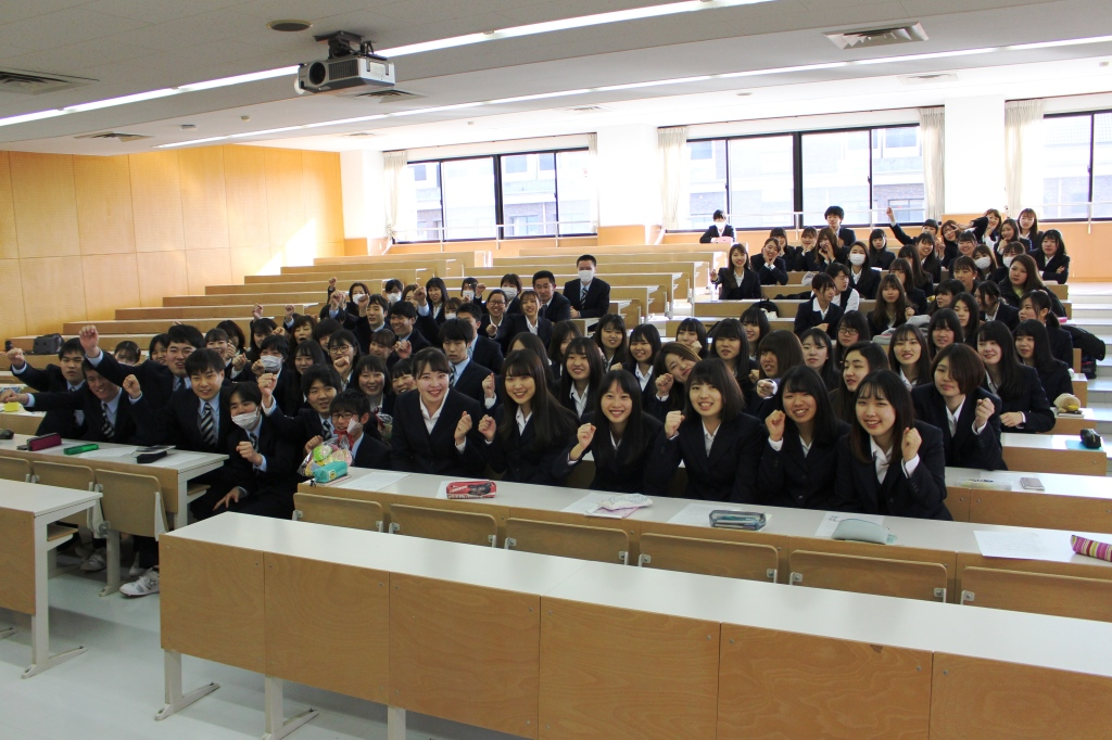 医療事務実習Ⅰ事前指導と介護福祉士国家試験・日本医師会医療秘書認定試験の激励会が行われました
